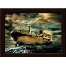 Wall Painting Of Lost Ship - GDCPRD0061