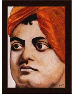 Wall Painting Of Swami Vivekananda - GDCPBD0002
