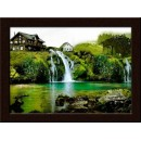 Wall Painting Of  Waterfall Scenery - GDCPGL0015