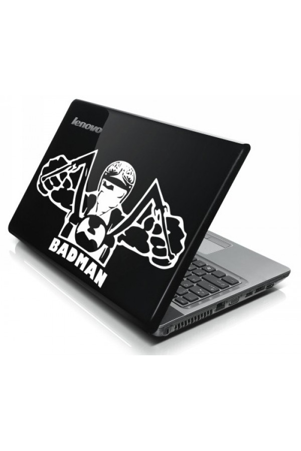 LAPTOP STICKER - Badman