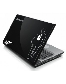 LAPTOP STICKER - Bond 007