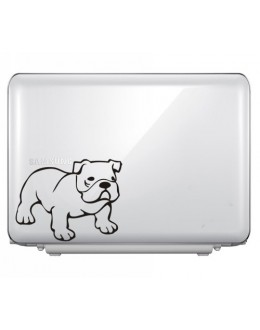 LAPTOP STICKER - Bulldog