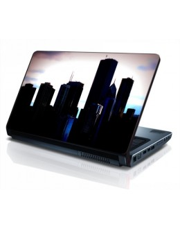 LAPTOP STICKER - City Skyline