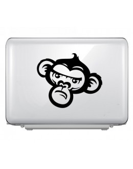 LAPTOP STICKER - Crazy Monkey