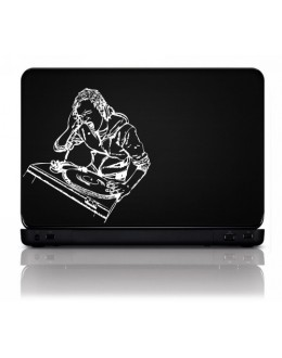 LAPTOP STICKER - DJ