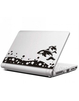 LAPTOP STICKER - Dolphin