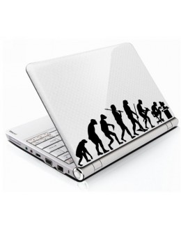 LAPTOP STICKER - Evolution of Man
