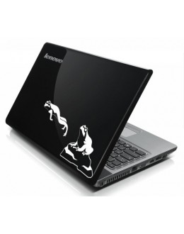 LAPTOP STICKER - Frogs Jump