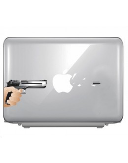 LAPTOP STICKER - Gun can break