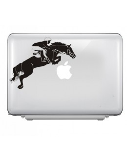LAPTOP STICKER - Jumping Horse