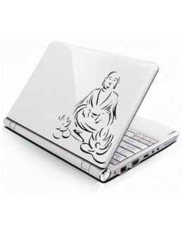 LAPTOP STICKER - Laughing Buddha