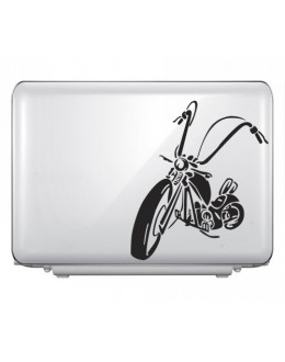 LAPTOP STICKER - Moter Bike