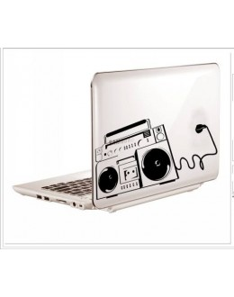 LAPTOP STICKER - RADIO STYLE