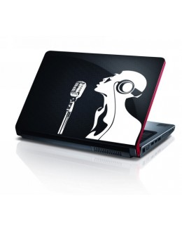 LAPTOP STICKER - Singing Lady