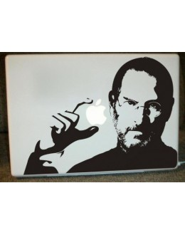 LAPTOP STICKER - Sir Steve Jobs