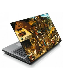 LAPTOP STICKER - Village