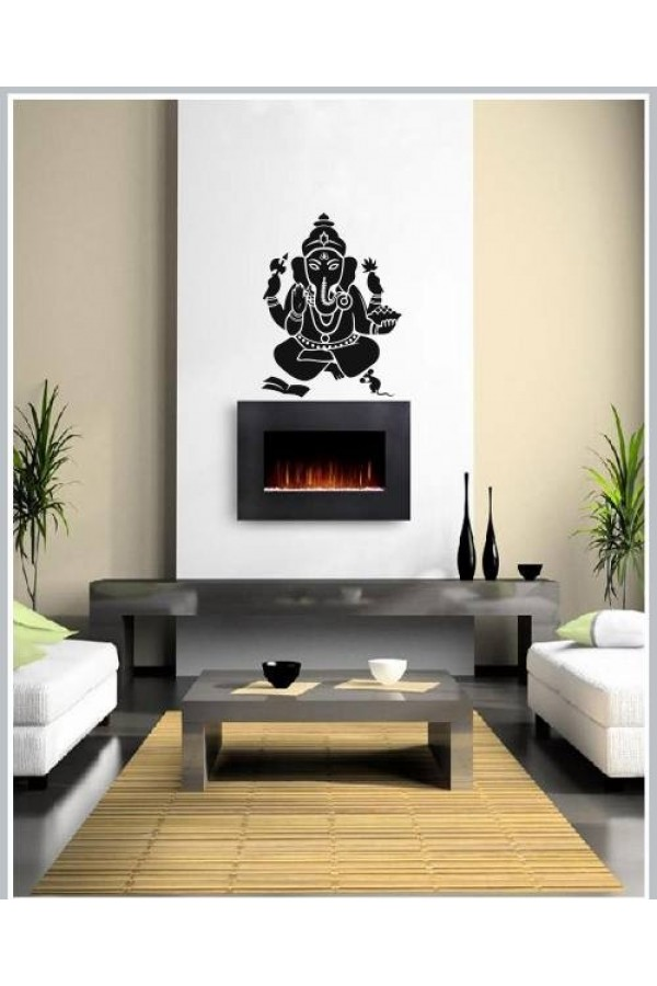 Ganesha Decals Style Wall Sticker-GCHS001