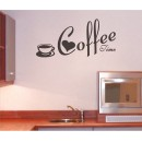 Wall Sticker - Coffee time