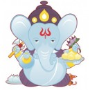 Wall Sticker - Ganesha