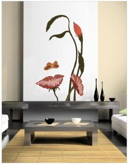 Wall Sticker - Gestalt Face