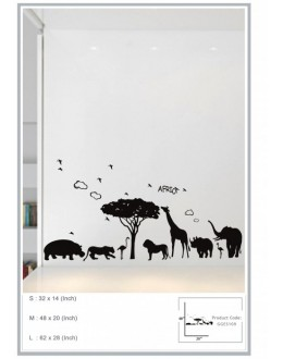 Wall Sticker of Africa