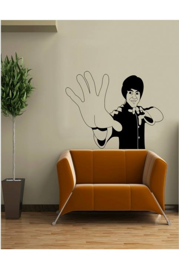 Wall Sticker of Bruce lee