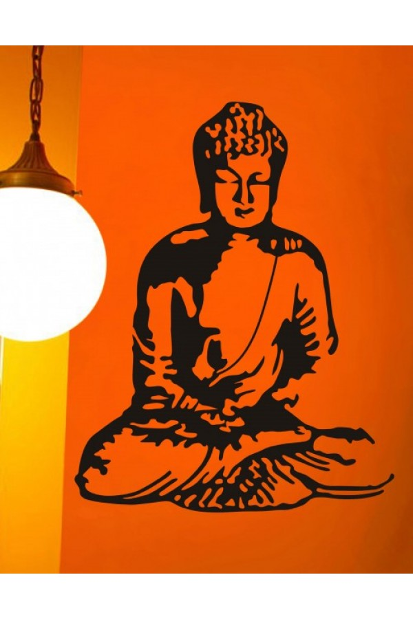 Wall Sticker of Buddha