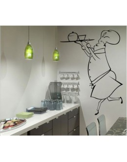 Wall Sticker of Chef