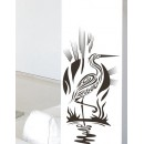 WALL STICKER OF CRANE BIRD