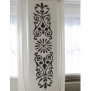 WALL STICKER OF FLORAL PATTERN