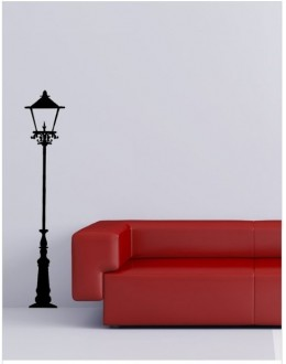 Wall Sticker of Lamppost