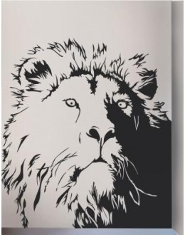 Wall Sticker of Lion