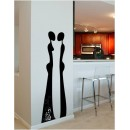 Wall Sticker of Lovers