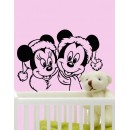 Wall Sticker of Mini & Mickey