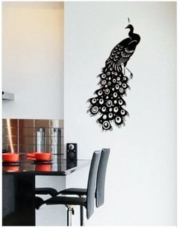Wall Sticker of Peacock