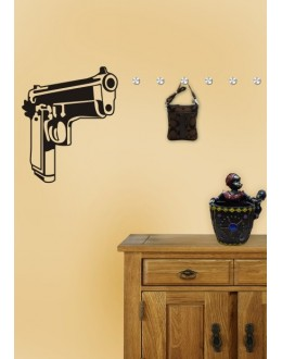 Wall Sticker of Shooter
