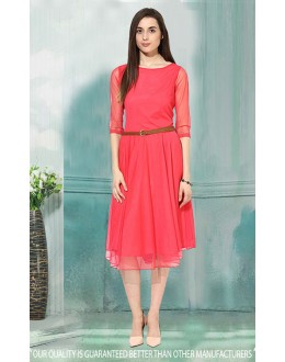 Party Wear Readymade Carrot Western Wear Dress - 30032