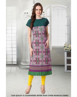 Office Wear Readymade Crepe Kurti - 50298