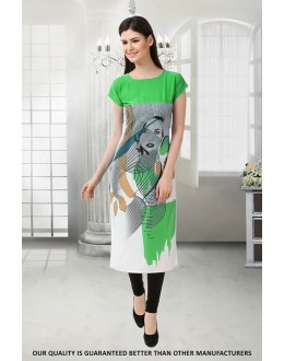 Party Wear Readymade Crepe Kurti - 50315