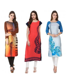 Festival Wear Readymade Kurti Combo Pack Of 3 - 50-323-324-330A