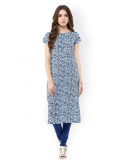 Festival Wear Readymade Multi-Colour Crepe Kurti - 50328