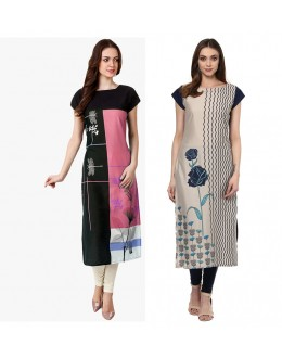 Ethnic Wear Readymade Kurti Combo Pack Of 2 - 50329A-50332