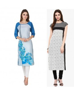 Ethnic Wear Readymade Combo Pack Of 2 Kurti - 50330A-50331