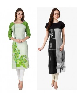 Festival Wear Readymade Kurti Combo Pack Of 2 - 50330B-50329C
