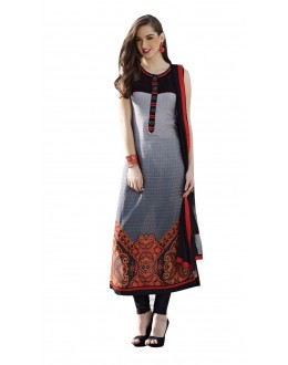 Wedding Wear Readymade Multi-Colour Taffeta Kurti - 50428