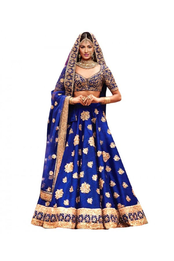 Bollywood Replica Blue Lehnega Choli - 60072