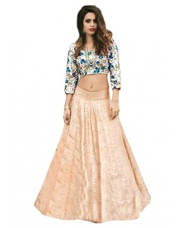 Bollywood Replica -  Fancy Peach Lehenga Choli - 60115