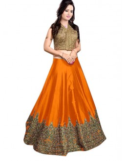 Bollywood Replica -  Ethnic Wear Yellow Lehenga Choli - 60147C