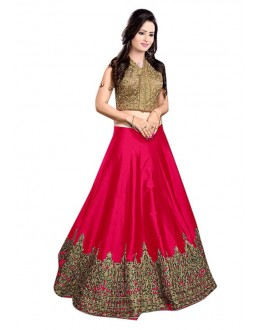 Bollywood Replica -  Traditional Pink Lehenga Choli - 60147F