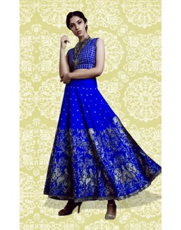 Bollywood Replica - Ethnic Wear Blue Lehenga Choli - 60156